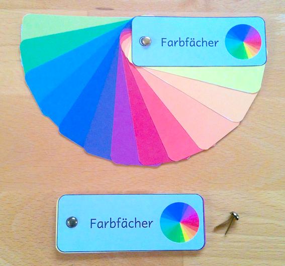 Farbfächer zum Selbermachen