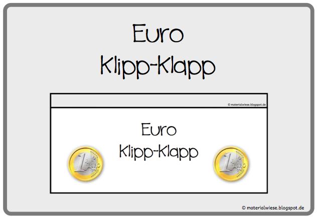 """€ Euro """"Klipp-Klapp"""" €"""