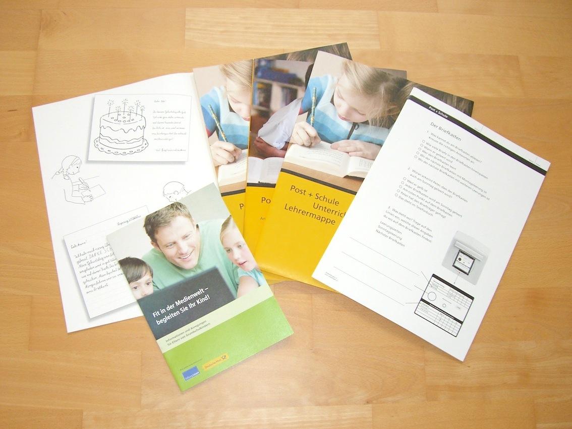 KOSTENLOS: Unterrichtsmaterial der Deutschen Post