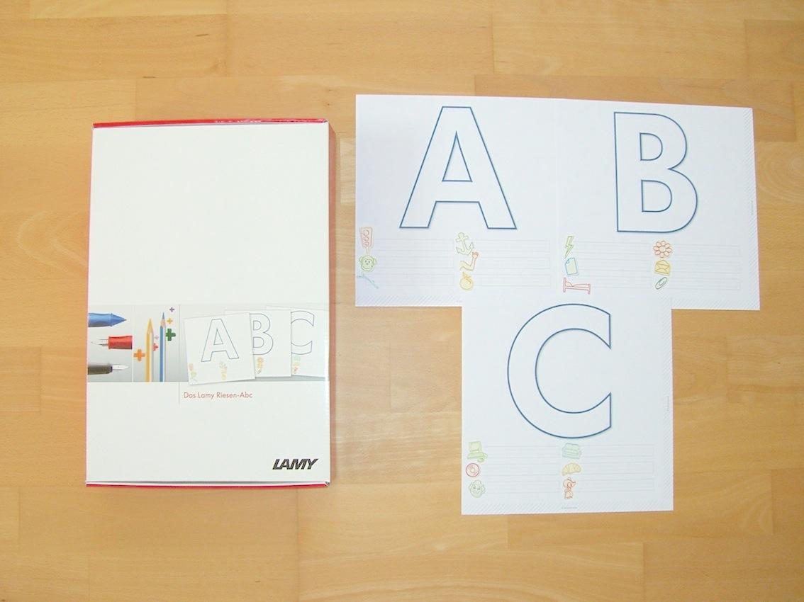 KOSTENLOS: Riesen-ABC und Füllerpässe