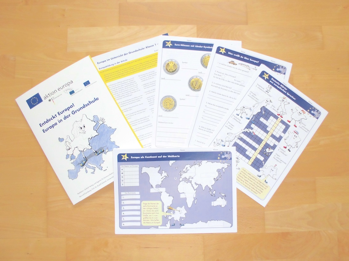 KOSTENLOS: Entdeckt Europa! Europa in der Grundschule