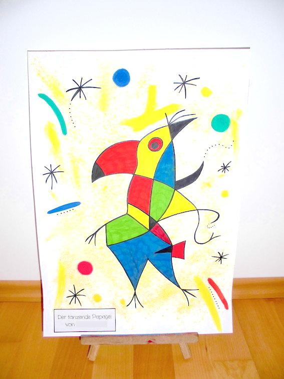 Der singende Fisch – Joan Miró