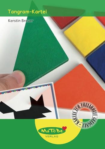 Tangram-Kartei in 4 Schwierigkeitsstufen