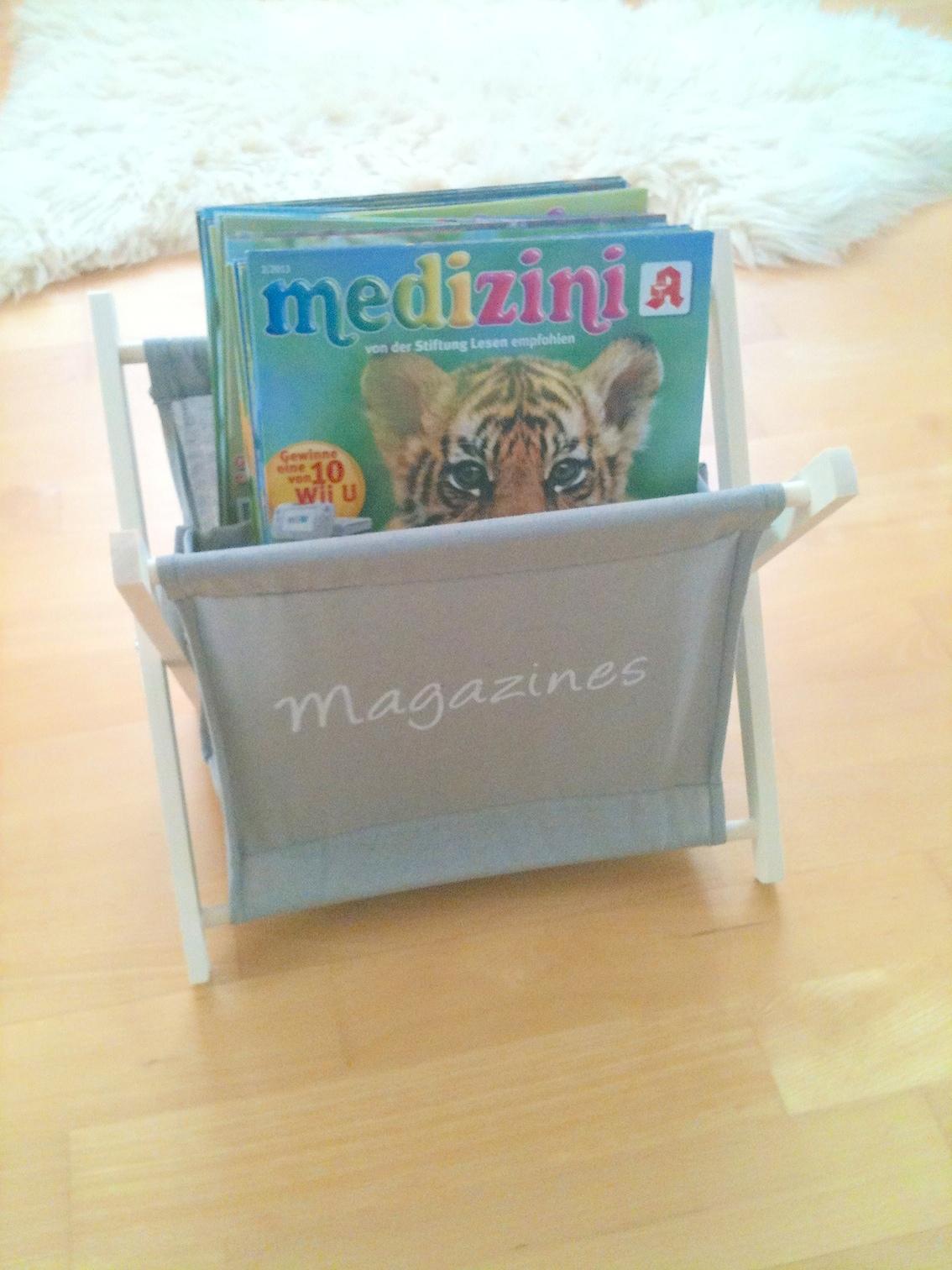 Zeitschriften für die Leseecke