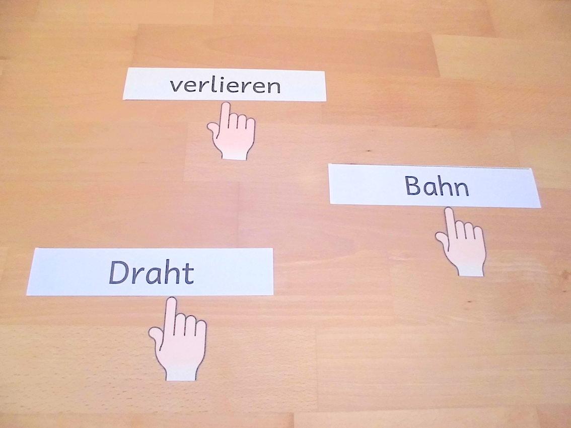 Lernwörter üben in der Grundschule