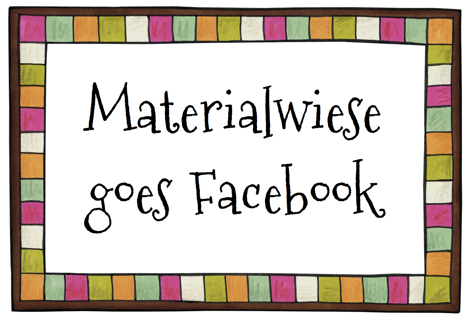 Materialwiese goes Facebook