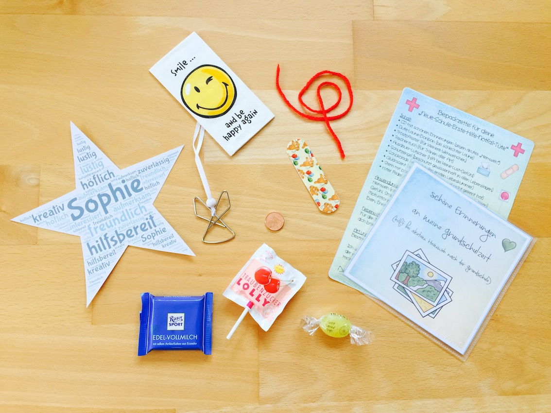 Neue-Schule-Erste-Hilfe-Notfall-Tüten