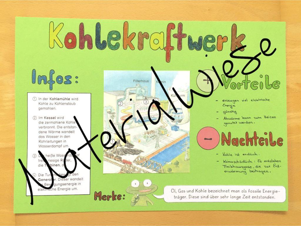 Plakate in der Grundschule