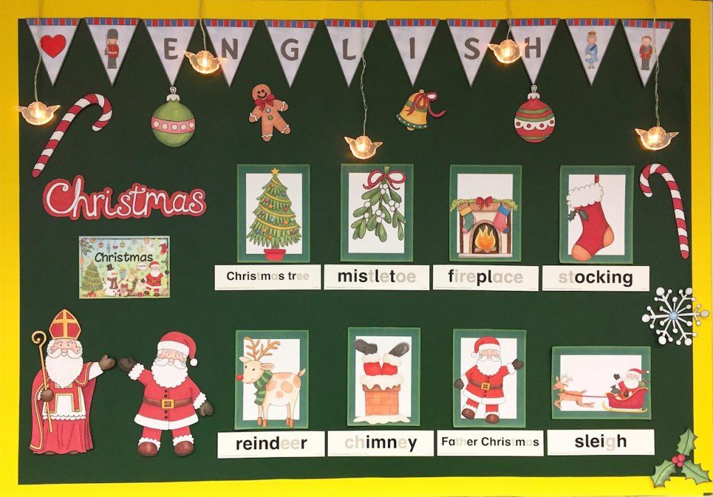 Weihnachtskarten Englisch Kostenlos.Christmas Im Englischunterricht