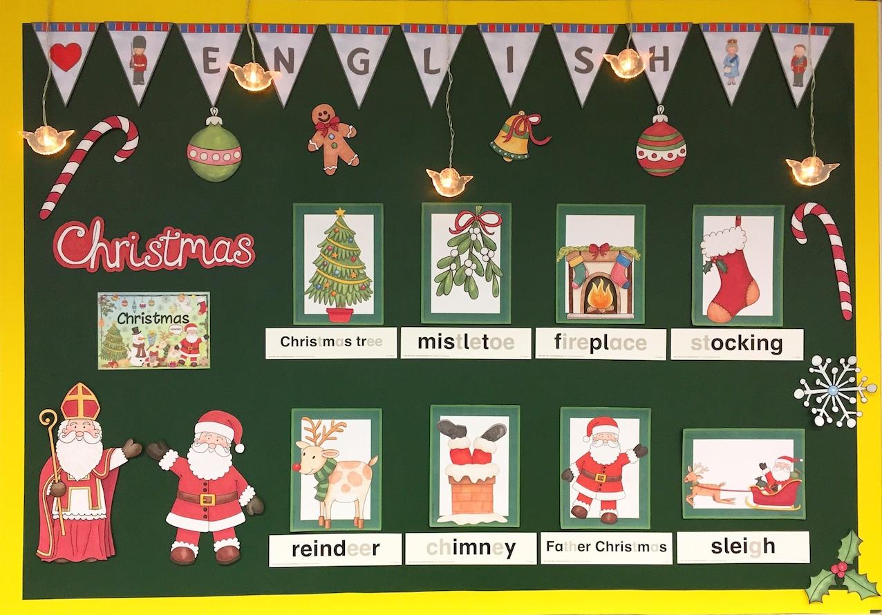 Christmas im Englischunterricht