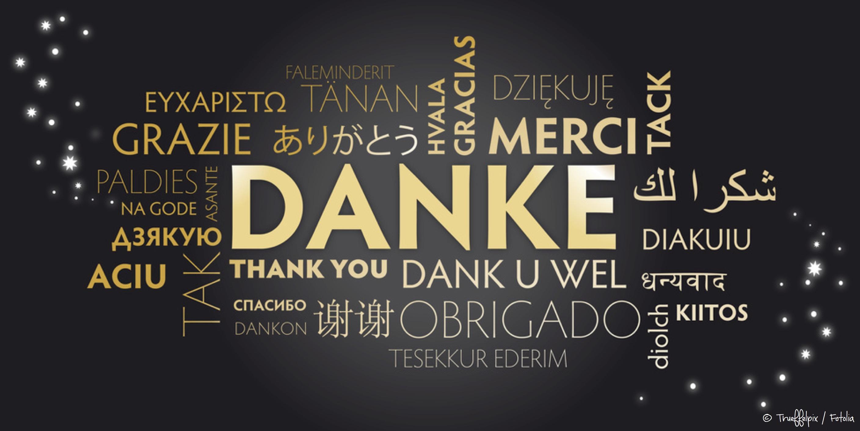 Danke für ein wundervolles Jahr