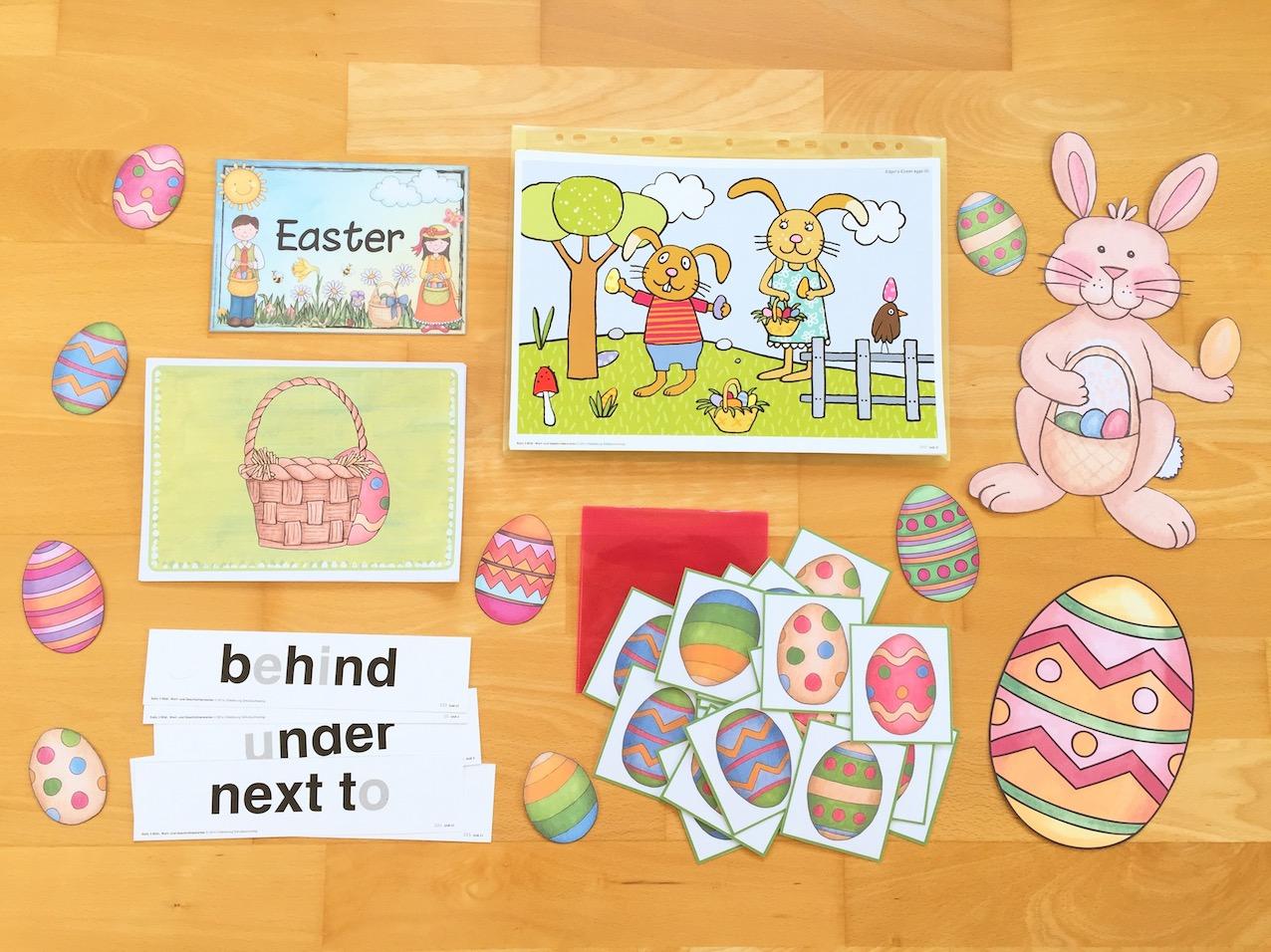 Ostern im Englischunterricht der Grundschule