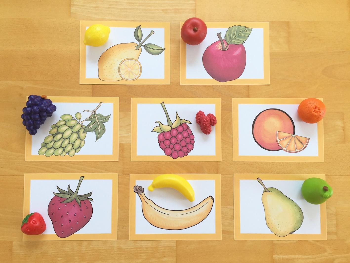 """Thema """"fruit"""" im Englischunterricht"""