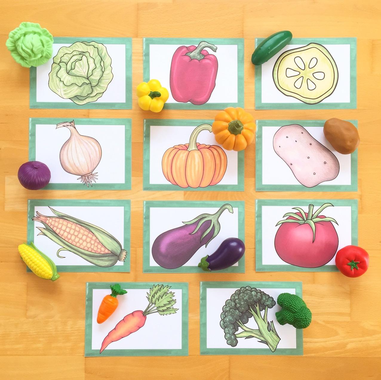 """Thema """"vegetables"""" im Englischunterricht"""
