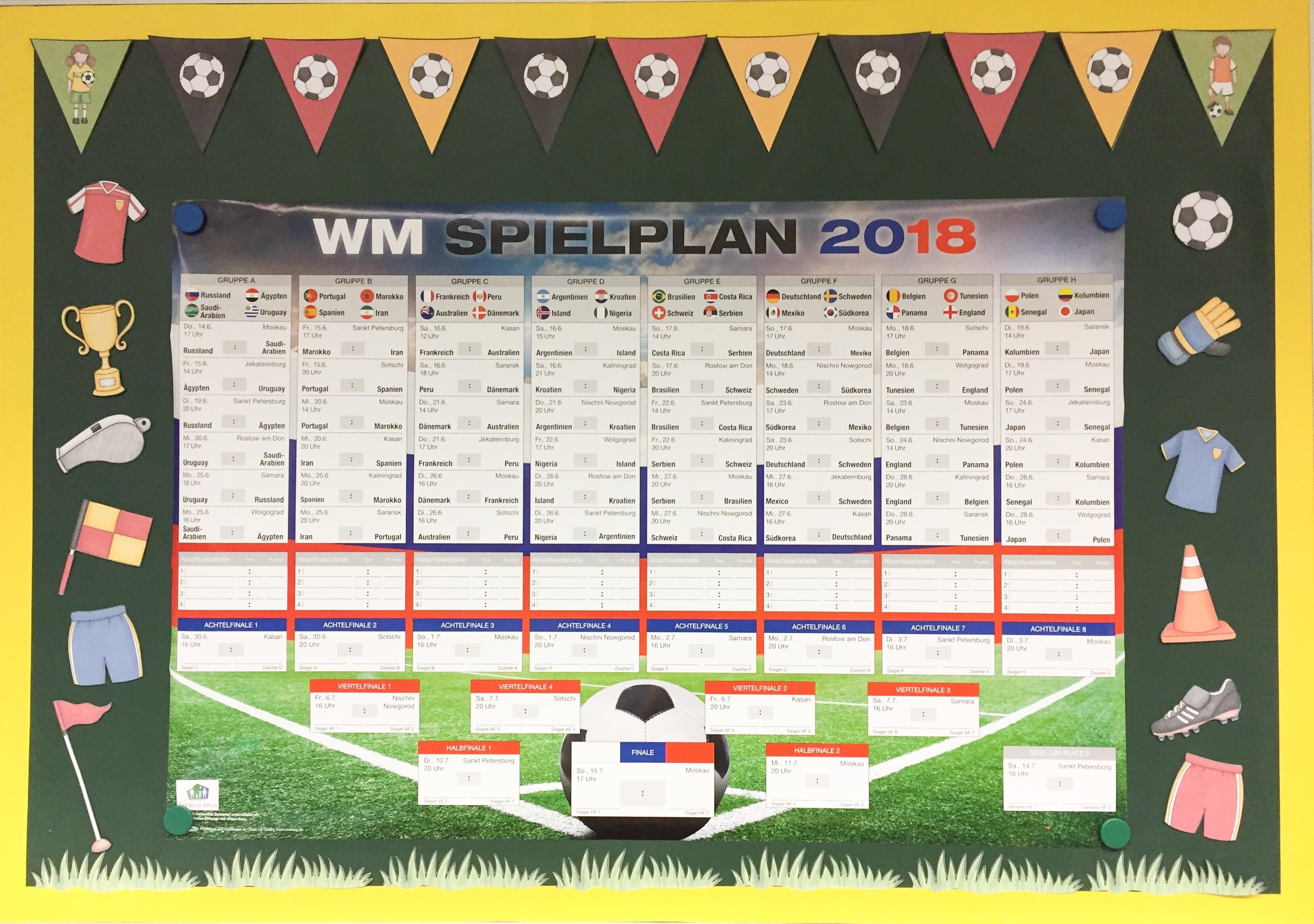 Fußball-WM-Ecke