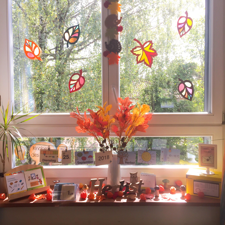 Herbst im Klassenzimmer