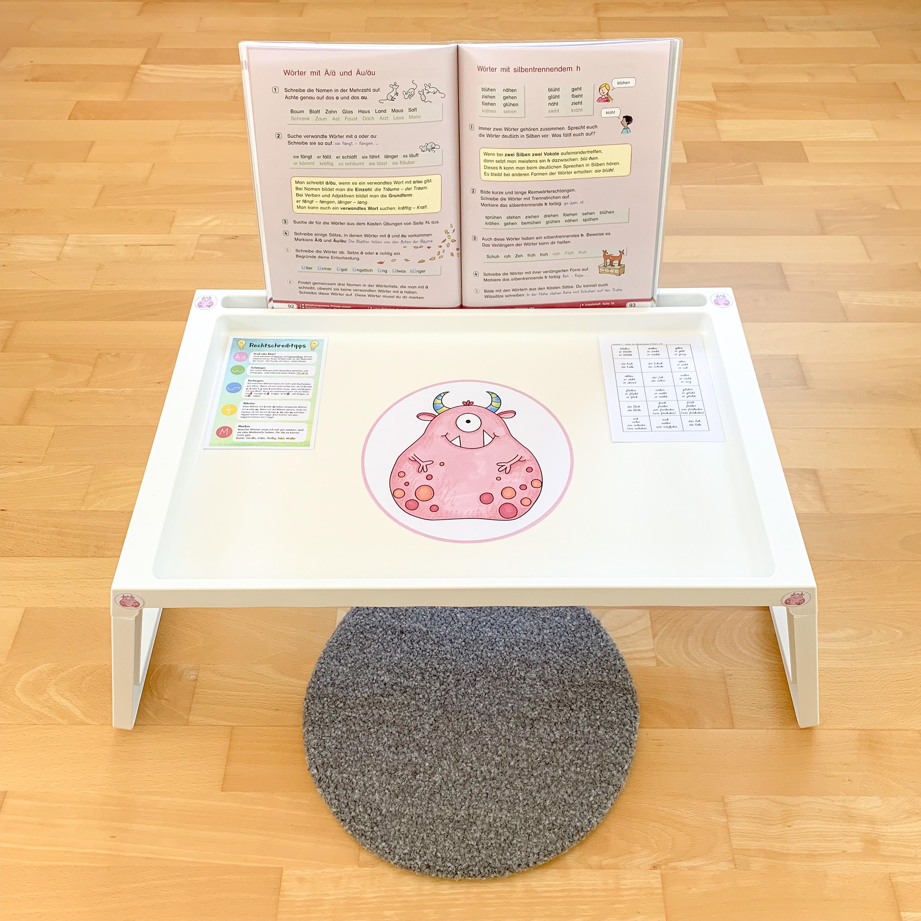 Flexible Sitzmöglichkeiten in der Grundschule