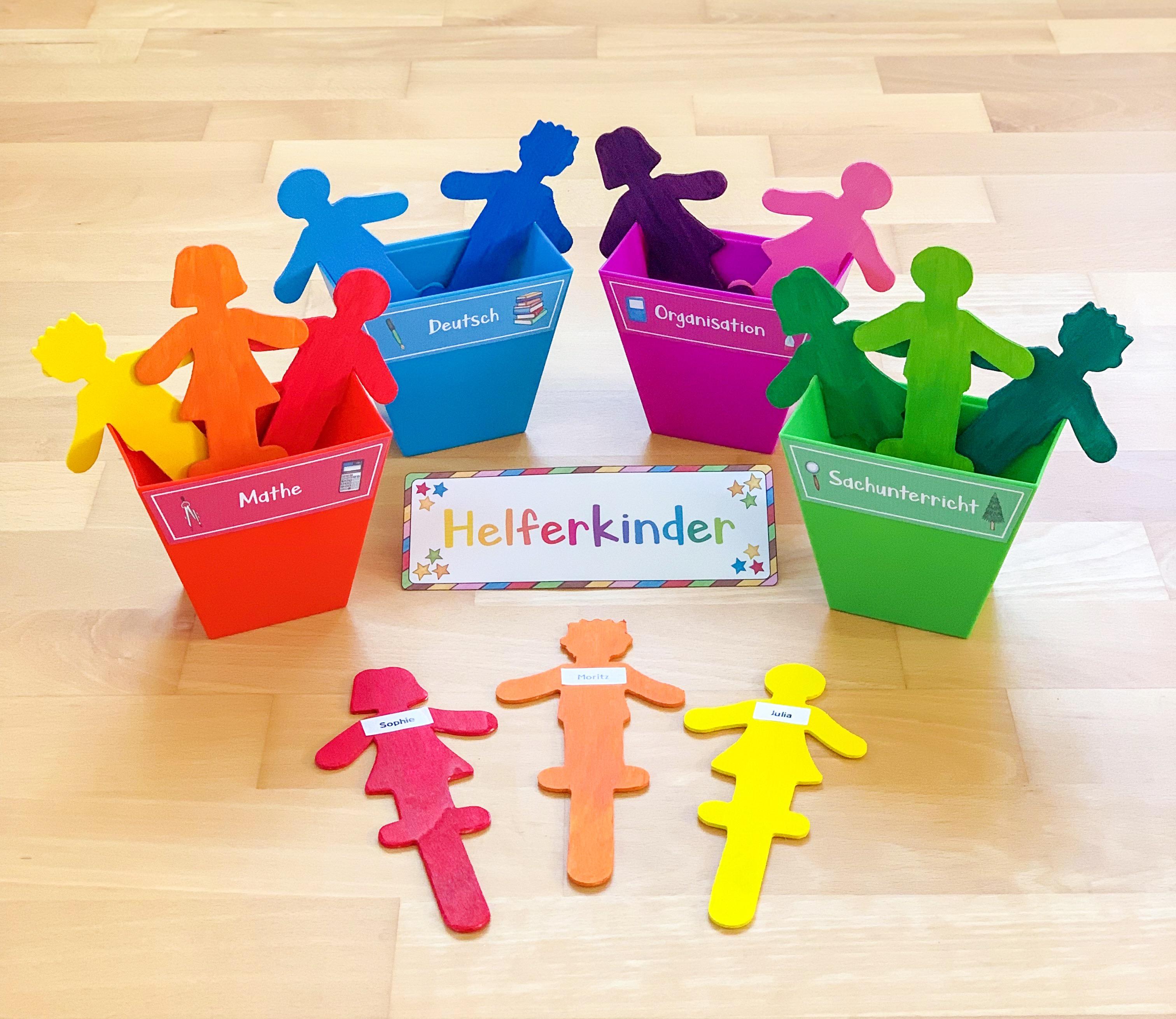 Helferkinder in der Grundschule