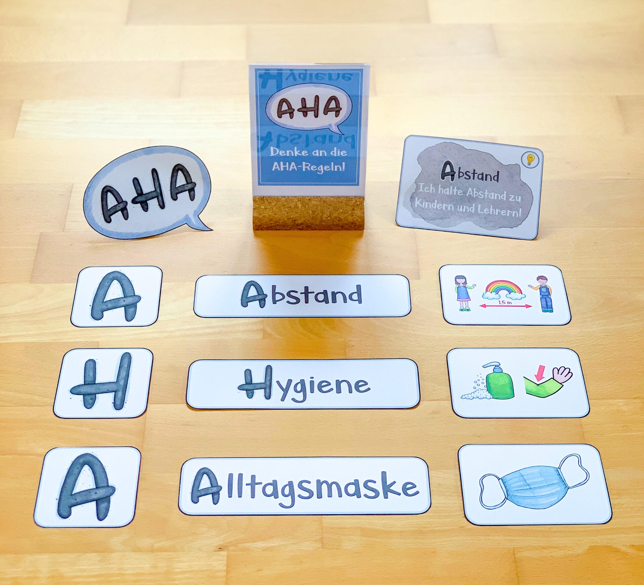 AHA-Regeln in der Grundschule