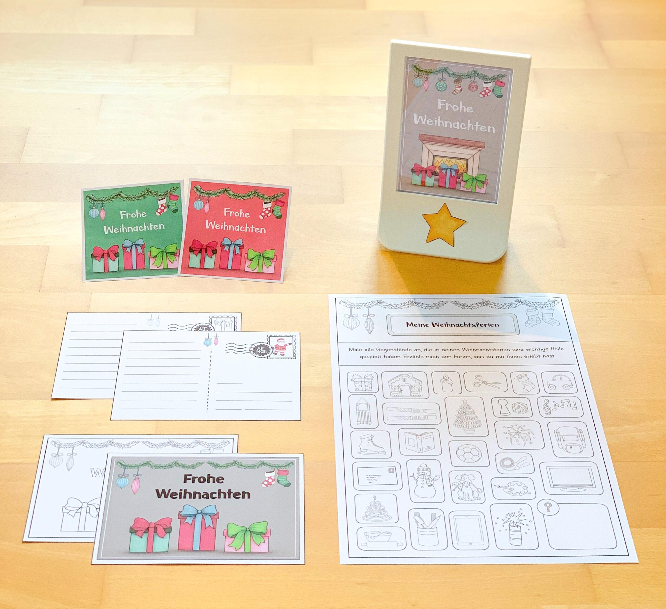 Materialpaket Weihnachten