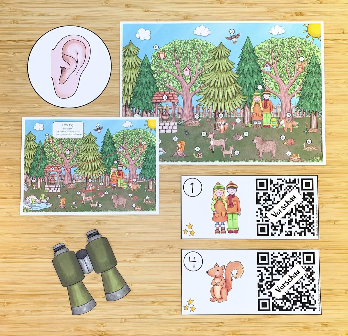 Interaktive Hörspur: Wald